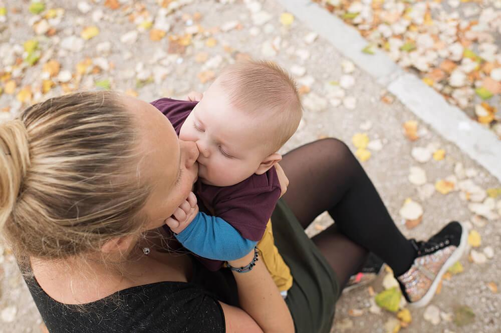 séance photo bébé au parc Borély