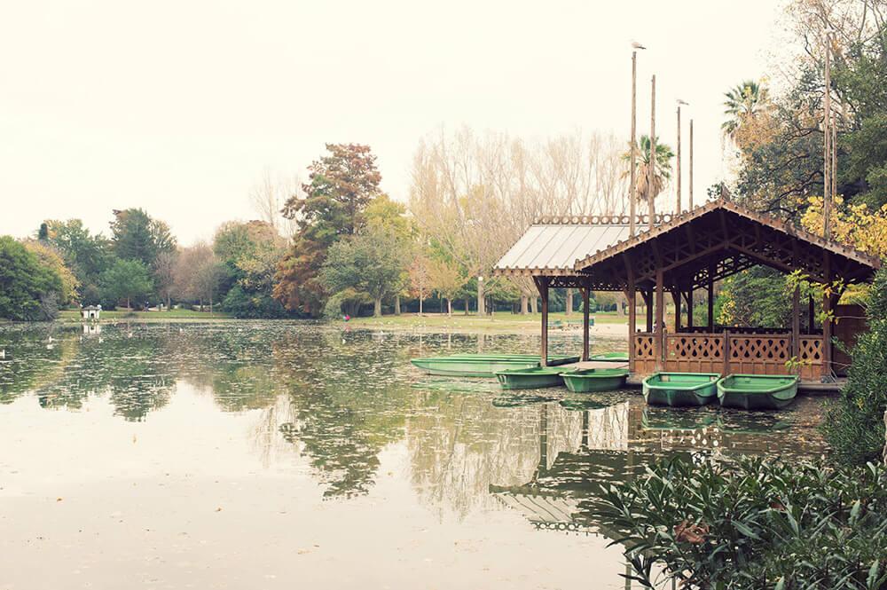 Barques au parc Borély