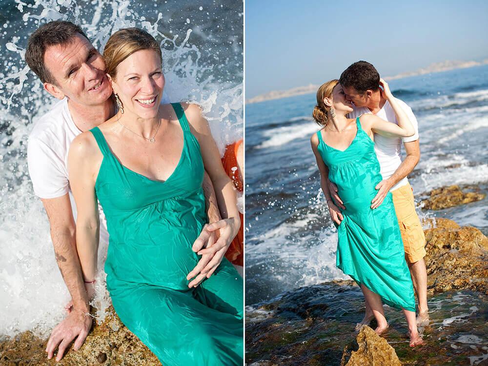 Séance photo grossesse au Bain des Dames