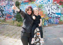Séance photo graffitis