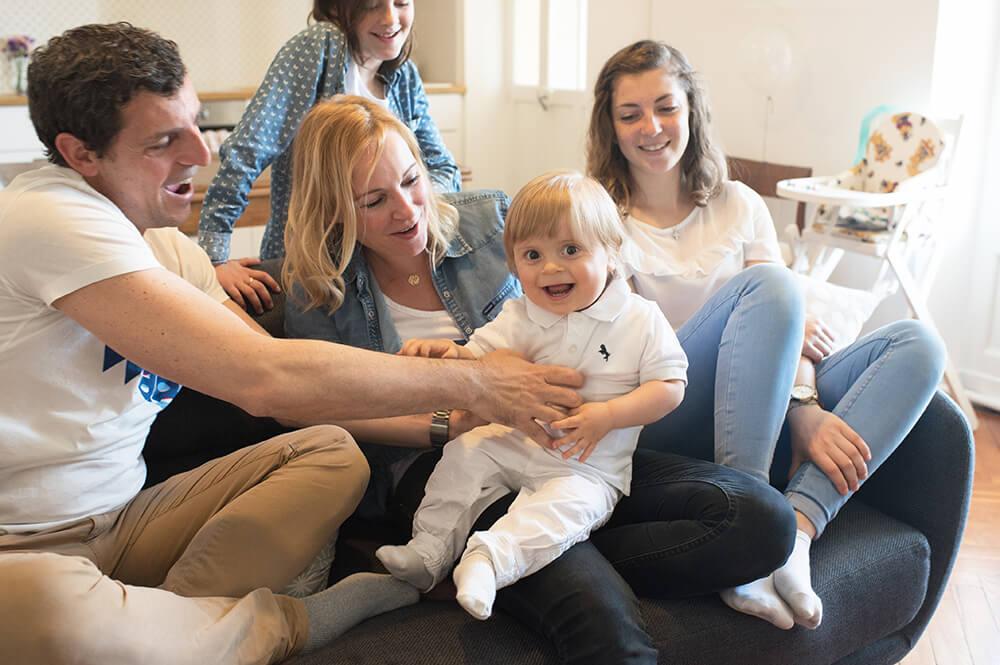Séance photo happy family