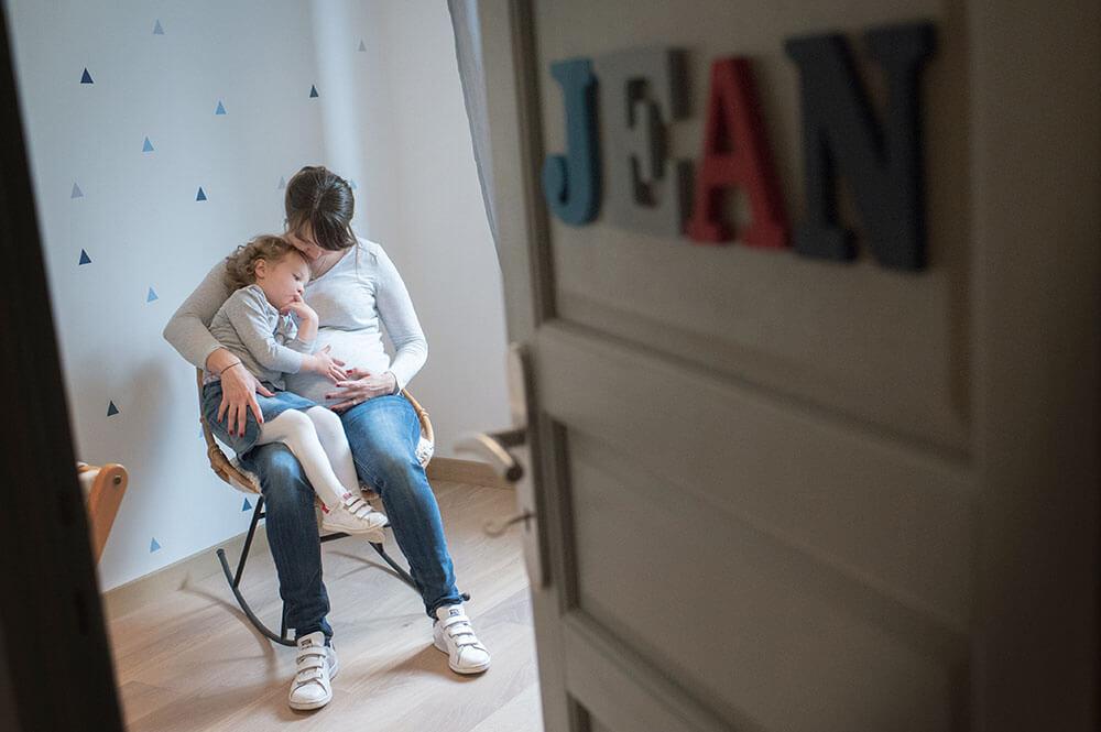 Séance photo grossesse à domicile Toulon