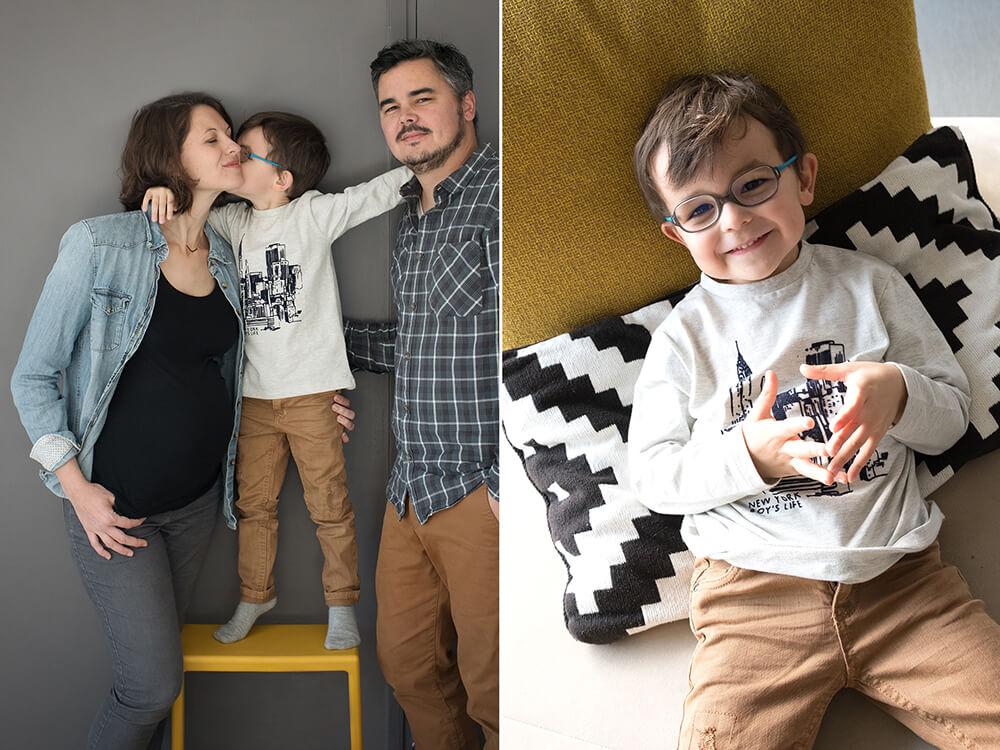 Séance photo famille à domicile Cassis.