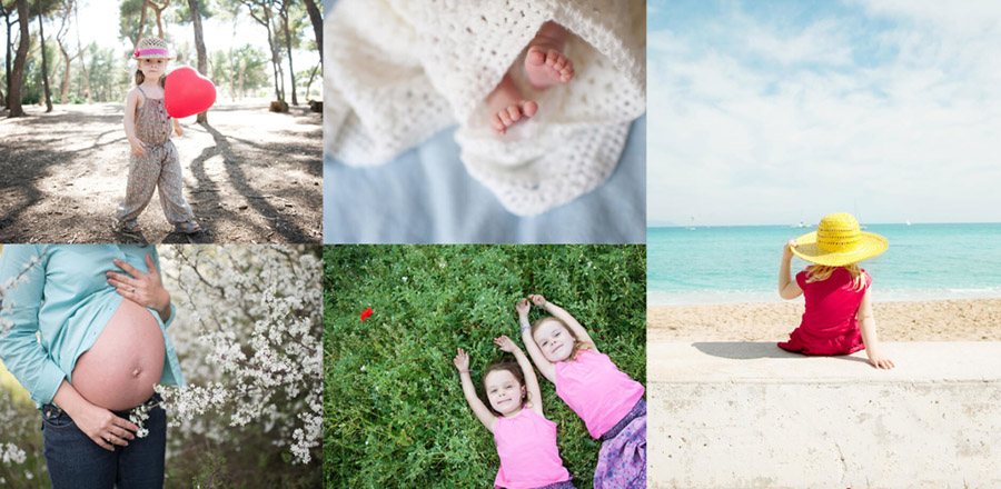 Shooting famille Provence
