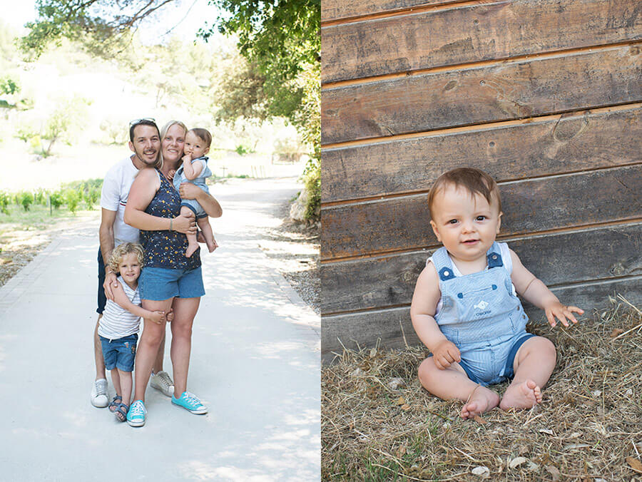 Séance photo famille à Aubagne