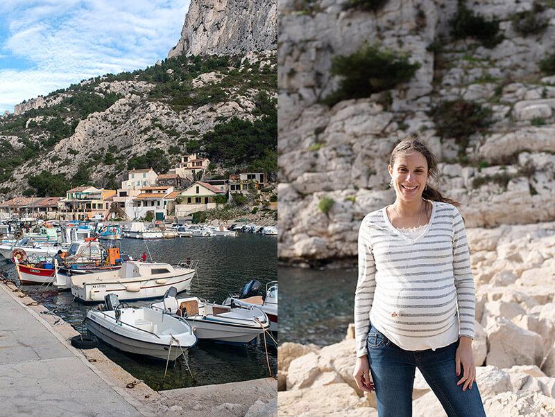 Décor de rêve dans une calanque de Marseille.
