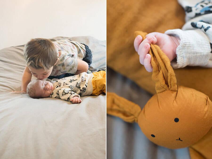 Séance photo bébé à domicile Toulon.