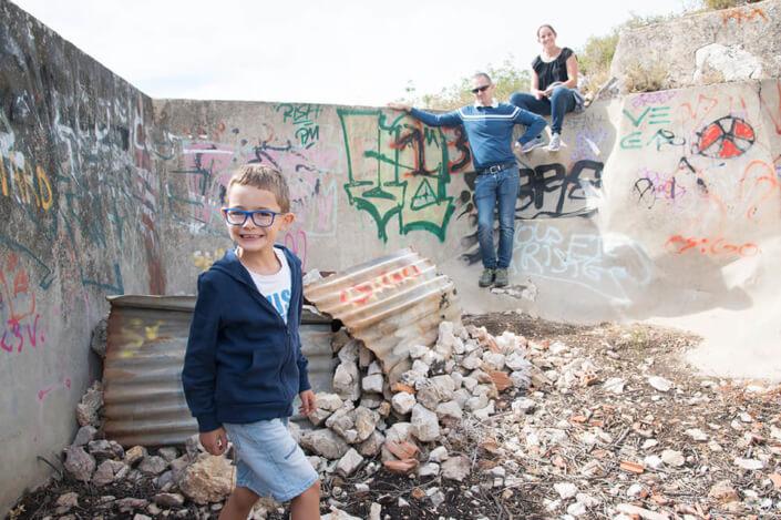 Smile graffiti. Portfolio enfant Marseille